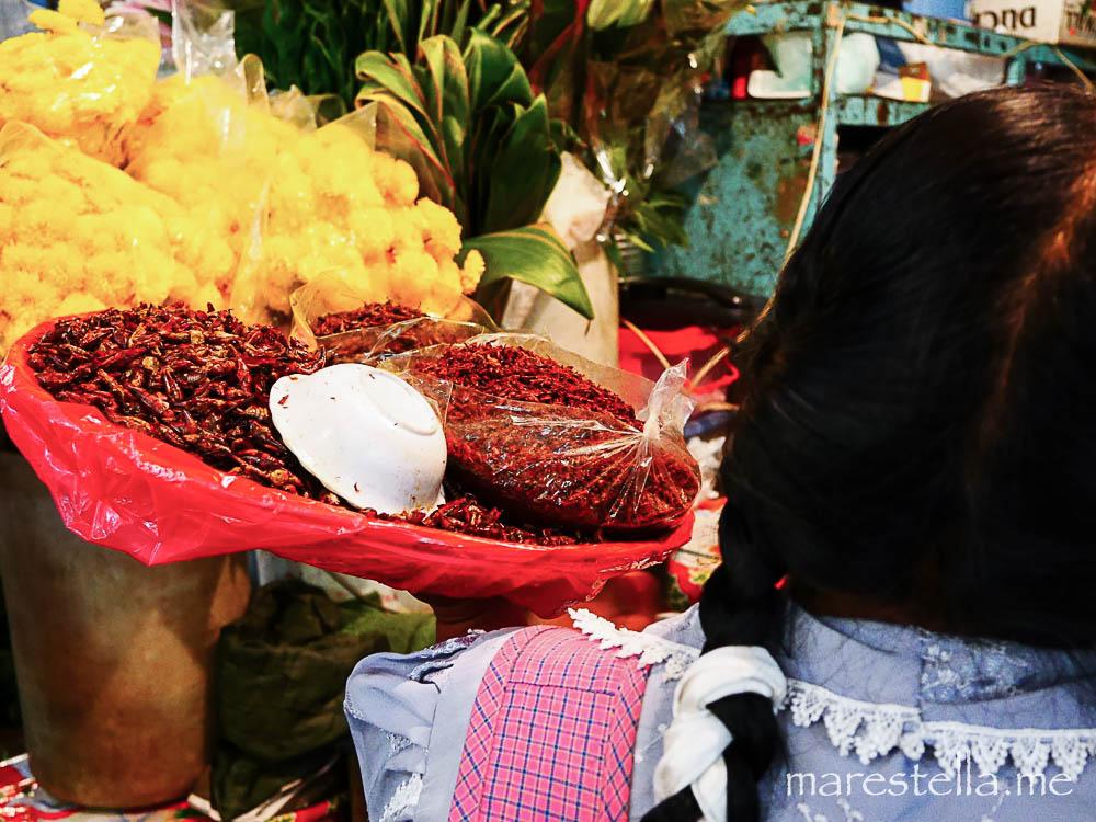 oaxaca. markt.